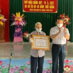 Lễ trao tặng Huy hiệu Đảng cho các đảng viên xã Ngọc Sơn