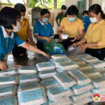 UBMTTQ huyện Đô Lương trao 175 suất ăn sáng cho công dân cách ly tại xã Tràng Sơn