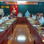 Ban Chỉ đạo Phòng, chống dịch Covid-19 tỉnh Nghệ An làm việc với  huyện Đô Lương về công tác phòng chống dịch