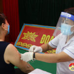 Huyện Đô Lương tổ chức tiêm phòng đợt 11 cho 621 người