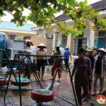 Huyện Đô Lương khẩn trương chuẩn bị hai khu cách ly tập trung tại xã Lưu Sơn.