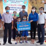 Huyện đoàn – Hội đồng đội Đô Lương khởi công xây nhà khăn quàng đỏ cho đội viên Nguyễn Đình Phước