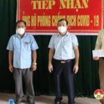 Đồng chí Hoàng Văn Hiệp – Phó bí thư, Chủ tịch UBND huyện  kiểm tra công tác phòng chống Covid tại xã Trù Sơn