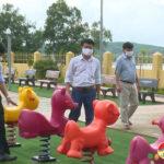 UBND huyện Đô Lương thẩm định công tác xây dựng nông thôn mới nâng cao tại xã Đặng Sơn