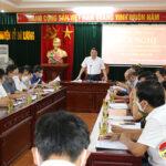 BCĐ phòng, chống dịch Covid – 19 Huyện Đô Lương tổ chức hội nghị triển khai các nội dung trọng tâm phòng, chống dịch Covid – 19 trên địa bàn huyện